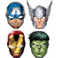 MASQUE MIGHTY AVENGERS X6