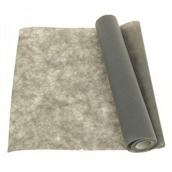 Chemin de table intissé gris 40cm x7m