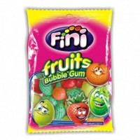 SACHET 100G FRUITS BUBBLE GUM