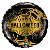 "BALLON ALU HALLOWEEN GOLDEN 18""45CM"